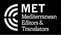 I am a member of the Mediterranean Editors and Translators.