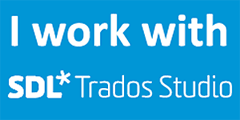I work with SDL Trados Studio 2017.